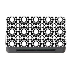 Pattern Seamless Monochrome Memory Card Reader With Cf