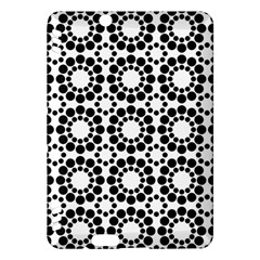 Pattern Seamless Monochrome Kindle Fire Hdx Hardshell Case