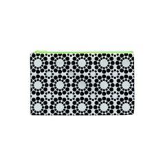Pattern Seamless Monochrome Cosmetic Bag (xs)