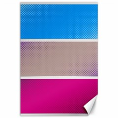 Pattern Template Banner Background Canvas 12  X 18