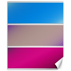 Pattern Template Banner Background Canvas 16  X 20
