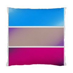 Pattern Template Banner Background Standard Cushion Case (one Side)