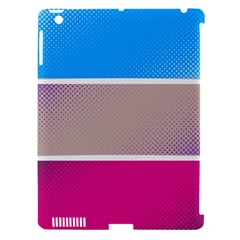 Pattern Template Banner Background Apple Ipad 3/4 Hardshell Case (compatible With Smart Cover)
