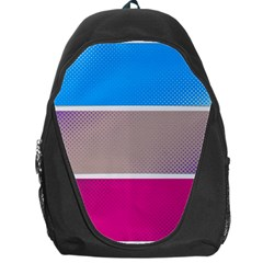 Pattern Template Banner Background Backpack Bag