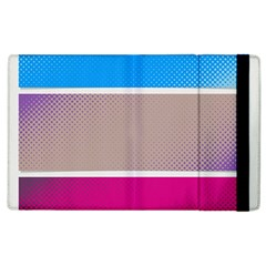 Pattern Template Banner Background Apple Ipad 2 Flip Case
