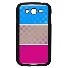 Pattern Template Banner Background Samsung Galaxy Grand Duos I9082 Case (black)