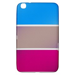 Pattern Template Banner Background Samsung Galaxy Tab 3 (8 ) T3100 Hardshell Case