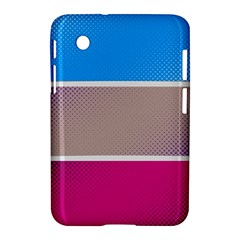 Pattern Template Banner Background Samsung Galaxy Tab 2 (7 ) P3100 Hardshell Case