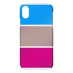 Pattern Template Banner Background Apple Iphone X Hardshell Case