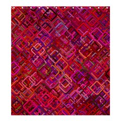 Pattern Background Square Modern Shower Curtain 66  X 72  (large)