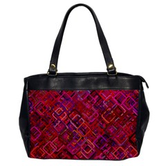 Pattern Background Square Modern Office Handbags