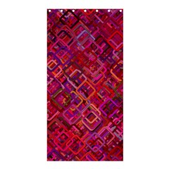 Pattern Background Square Modern Shower Curtain 36  X 72  (stall)