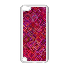 Pattern Background Square Modern Apple Ipod Touch 5 Case (white)