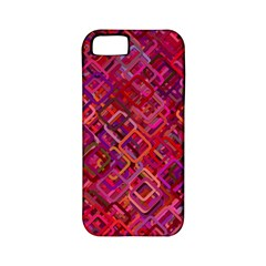 Pattern Background Square Modern Apple Iphone 5 Classic Hardshell Case (pc+silicone)