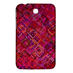 Pattern Background Square Modern Samsung Galaxy Tab 3 (7 ) P3200 Hardshell Case