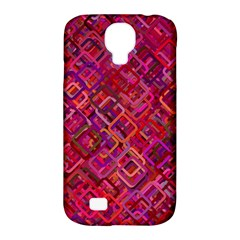 Pattern Background Square Modern Samsung Galaxy S4 Classic Hardshell Case (pc+silicone)