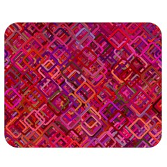 Pattern Background Square Modern Double Sided Flano Blanket (medium)