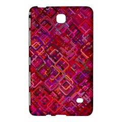 Pattern Background Square Modern Samsung Galaxy Tab 4 (7 ) Hardshell Case