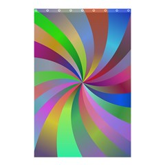 Spiral Background Design Swirl Shower Curtain 48  X 72  (small)