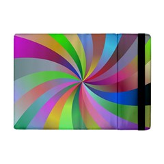 Spiral Background Design Swirl Apple Ipad Mini Flip Case