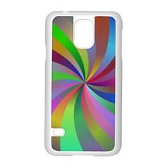 Spiral Background Design Swirl Samsung Galaxy S5 Case (white)