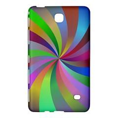 Spiral Background Design Swirl Samsung Galaxy Tab 4 (7 ) Hardshell Case