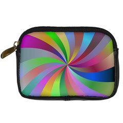 Spiral Background Design Swirl Digital Camera Cases