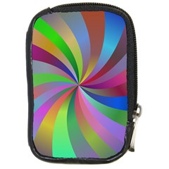 Spiral Background Design Swirl Compact Camera Cases