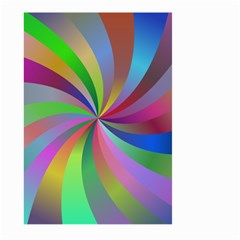 Spiral Background Design Swirl Large Garden Flag (two Sides)