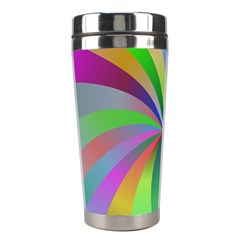 Spiral Background Design Swirl Stainless Steel Travel Tumblers