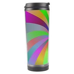 Spiral Background Design Swirl Travel Tumbler