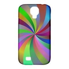 Spiral Background Design Swirl Samsung Galaxy S4 Classic Hardshell Case (pc+silicone)