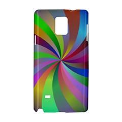 Spiral Background Design Swirl Samsung Galaxy Note 4 Hardshell Case