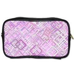 Pink Modern Background Square Toiletries Bags