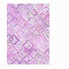 Pink Modern Background Square Large Garden Flag (two Sides)