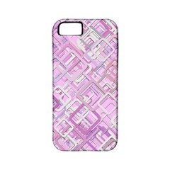 Pink Modern Background Square Apple Iphone 5 Classic Hardshell Case (pc+silicone)