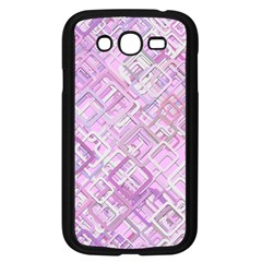 Pink Modern Background Square Samsung Galaxy Grand Duos I9082 Case (black)