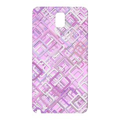 Pink Modern Background Square Samsung Galaxy Note 3 N9005 Hardshell Back Case