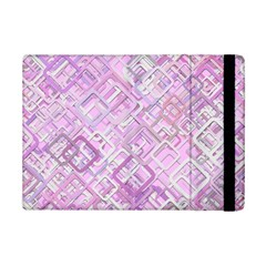 Pink Modern Background Square Ipad Mini 2 Flip Cases