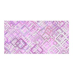 Pink Modern Background Square Satin Wrap