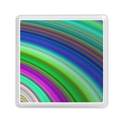 Motion Fractal Background Memory Card Reader (square)