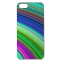 Motion Fractal Background Apple Seamless Iphone 5 Case (clear)