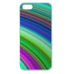 Motion Fractal Background Apple Seamless Iphone 5 Case (color)