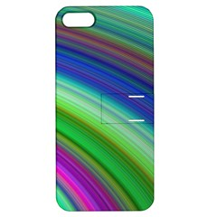 Motion Fractal Background Apple Iphone 5 Hardshell Case With Stand