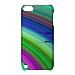 Motion Fractal Background Apple Ipod Touch 5 Hardshell Case With Stand
