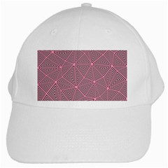 Purple Triangle Background Abstract White Cap