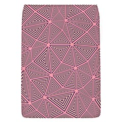 Purple Triangle Background Abstract Flap Covers (s)