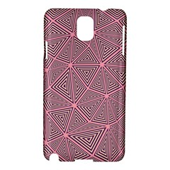 Purple Triangle Background Abstract Samsung Galaxy Note 3 N9005 Hardshell Case