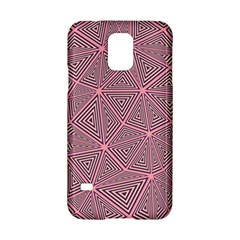 Purple Triangle Background Abstract Samsung Galaxy S5 Hardshell Case