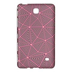 Purple Triangle Background Abstract Samsung Galaxy Tab 4 (7 ) Hardshell Case